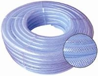 Reinforced PVC Braided Hose   Natural & Coloured  Reinforced With High Tensile
