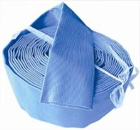 """Lay Flat Delivery Hose - 10m Coils (Blue)   """"Suitable For Drainage Locations With Relatively Small Differences In Elevation,""""  """"  Temporary Water Supply, Sprinkler Irrigation Systems, Liquid Fertilizer And"""""""