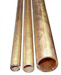 Copper Tube - Imperial - BSEN12449CW024A-H075 - 3m Half Hard Straight Lengths