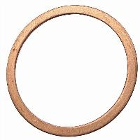 Flat Copper Washer - Metric   WASHER  To Suit BSPP Male Thread