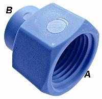 Reducing Socket   Nylon Fittings  BSPT Female Thread