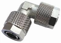 Equal Elbow   Brass Nickel Plated Finish  The Working pressure and temperatures