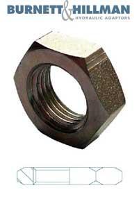 BSPP Locknut   Burnett & Hillman  Hydraulic Adaptor