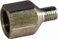 Straight Male Connector - Adaptor   Straight Male Connector  - Adaptor  Steel