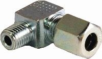 90° Compression Fitting   90° Compression Fitting  Steel
