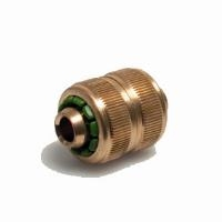 DOUBLE HOSE COMPRESSION - BRASS   DOUBLE HOSE COMPRESSION - BRASS