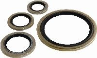 Bonded Seal - Metric - Stainless Steel - Nitrile   Bonded Seal - Metric - Stainless Steel - Nitrile