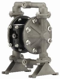 """Ingersoll-Rand® ARO 1/2"""" Stainless Steel Air Operated Diaphragm Pump   1/2"""" Model Stainless Steel Wetted Parts,Max Operating Pressure 6.9 Bar, Max Flow Rate 45 Ltrs/Min"""