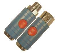 Safety - Push Button Coupler   Interchange: PCL Standard, Rectus 19 CEJN295  Single Action