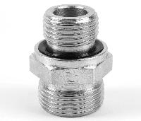 Parker® EO Male Connector 24° Flareless/BSPP Form E   Male Connector 24° Flareless/BSPP Form E