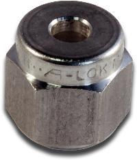 Parker® A-LOK Metric Tube Nut   A-LOK Metric Tube Nut