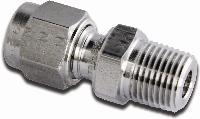Parker® A-LOK Metric Male Connector - NPT   A-LOK Metric Male Connector - NPT