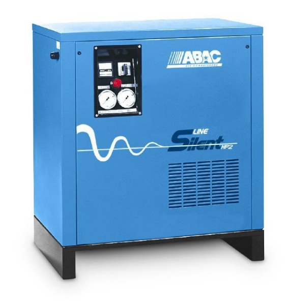 ABAC Silent Piston Air Compressor - 2.2Kw 3HP @ 10 Bar