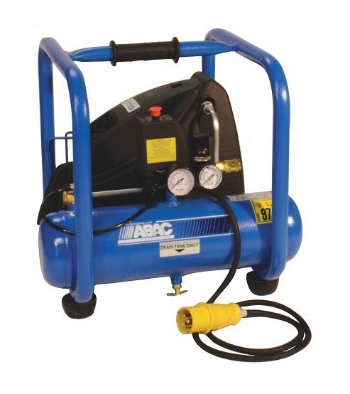 ABAC 110 Volt Tradeline 250 RC Direct Drive 2.5 HP 6 Litre Air Compressor