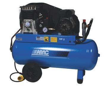ABAC 110 Volt Tradeline B28/60 Belt Driven 2 HP 50 Litre Air Compressor - Oil Free