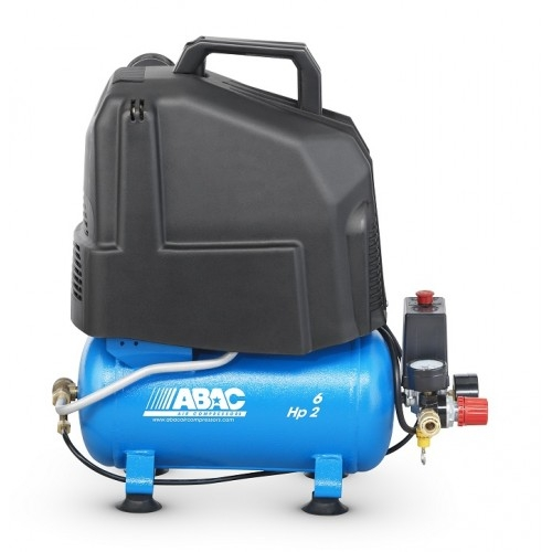 ABAC START O20P Direct Drive Oil-Less 2 HP 6 Litre Air Compressor