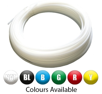 Nylon Tube 30m - Metric - All Colours