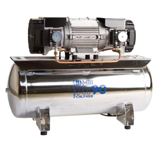 Bambi XT90 3 Phase oil free compressor