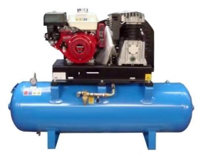 Petrol Air Compressor 13 HP Honda Electric Start 200 Litre