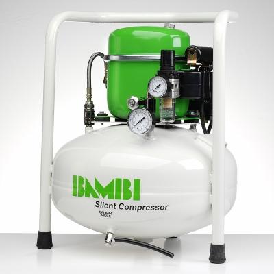 Bambi BB24V Compressor - Silent Air - Budget Range (24 Litres, 0.5 HP)