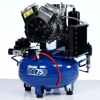 Bambi VT75D Compressor - Ultra Quiet Air - Oil-Free Professional (24 Litres, 0.75 HP)
