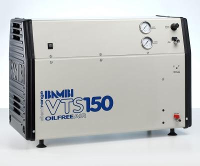 Bambi Oil-Free VTS150 Silent Air Compressor (23 Litres, 1.5 HP)