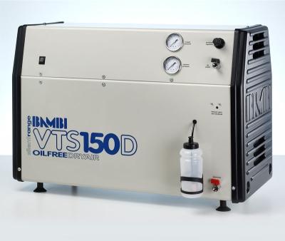 Bambi Oil-Free VTS150D Silent Air Compressor (23 Litres, 1.5 HP)
