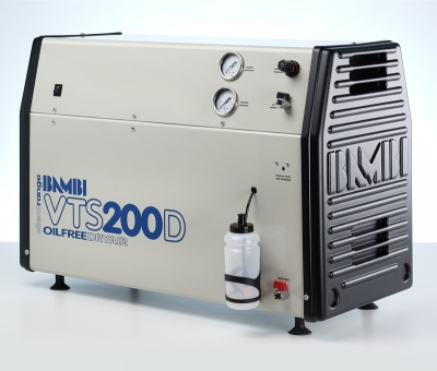 Bambi Oil-Free VTS200D Silent Air Compressor (23 Litres, 2 HP)