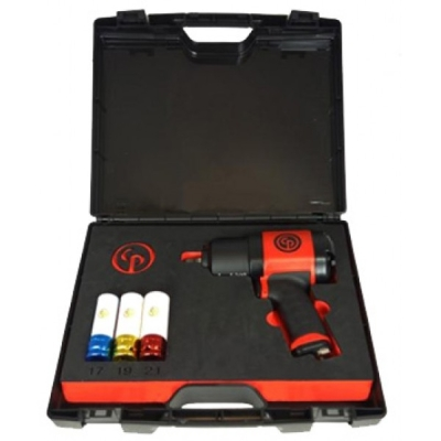 "CP7748 Chicago Pneumatic 1/2"" Composite Impact Wrench Kit"