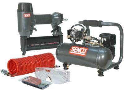 SENCO PC1010-FinishPro-18Mg Compressor Kit..plug in & work!