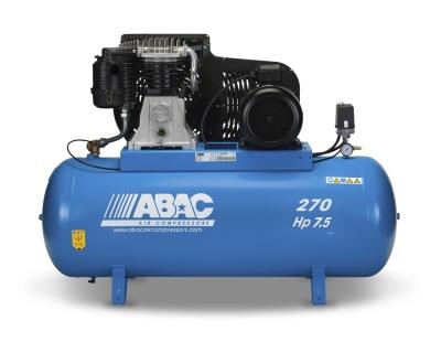 ABAC PRO B6000 270 FT7.5 Belt Driven Air Compressor (7.5 HP 270 Litre 29 CFM)