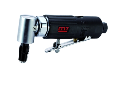 """MIGHTY SEVEN - QA-611 1/4"""" & 1/8"""" 90° Air Angle Die Grinder"""