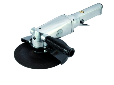 """MIGHTY SEVEN - QB -117 7"""" Air Angle Grinder / Lever Type Throttle"""