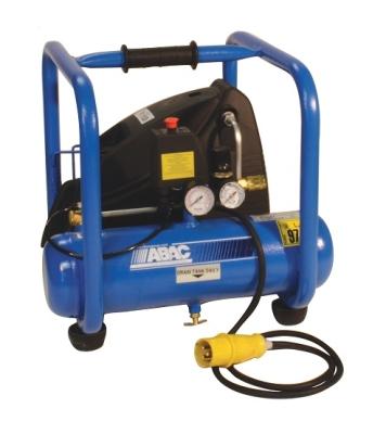 ABAC 110 Volt Tradeline 250 RC Direct Drive 2.5 HP 6 Litre Air Compressor - Oil Free