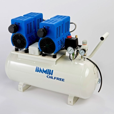 Bambi PT50 Oil Free Low Noise Compressor
