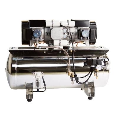 Bambi XT90D(F) Single Phase oil free compressor