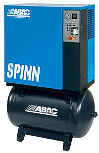 ABAC Rotary Screw Air Compressors (4KW - 22KW)