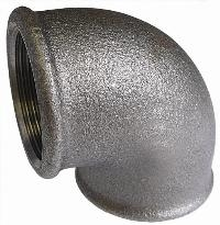 Equal Elbow   Malleable Iron Fittings  Black