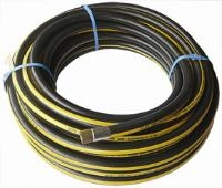 Rubber Alloy Air Hose   Pre-Cut And Pre-Packed  Each End Swaged With