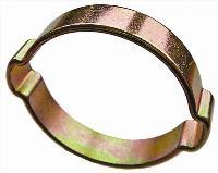 Double Ear O Clip   Mild Steel Zinc Plated - BS5315