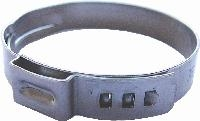 Stepless 1-Ear Clamps-Stainless   Features:  Narrow Band