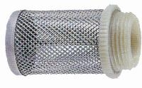 Stainless Steel Mesh Filter   With Nylon Connection - To suit Brass Spring Check Valve