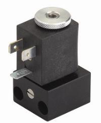 AZ Pneumatica® 3/2 Solenoid Valve on CNOMO-base   Temperature range: max +60°C  Working pressure: max 10 bar