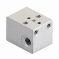 AZ Pneumatica® Single Manifold for 15mm NC Solenoid Valve   AZ Pneumatica® Single Manifold for 15mm NC Solenoid Valve