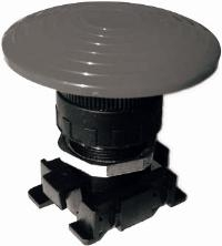 AZ Pneumatica® ?60 Palm Type Push Button   Material : High performance plastic material  Protection degree : IP 55