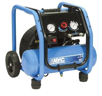 ABAC Rollcage D4 Direct Drive Air Compressor (3HP 10 Litre 9 CFM)