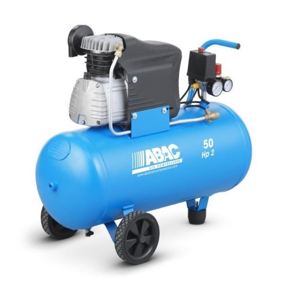 ABAC L20 Monte Carlo (241) Direct Drive 2HP 50 Litre Air Compressor
