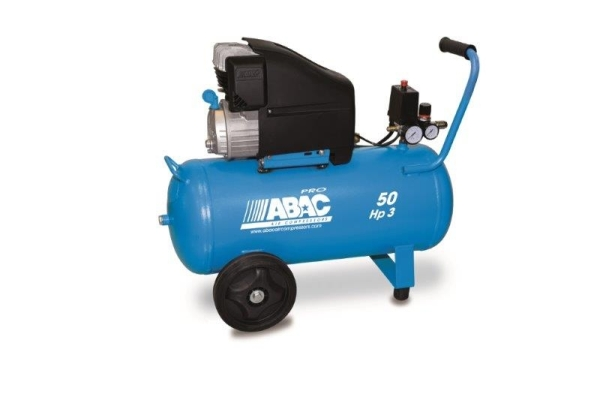 ABAC L30P Monte Carlo (D4) Direct Drive 3 HP Air Compressor (10 CFM)