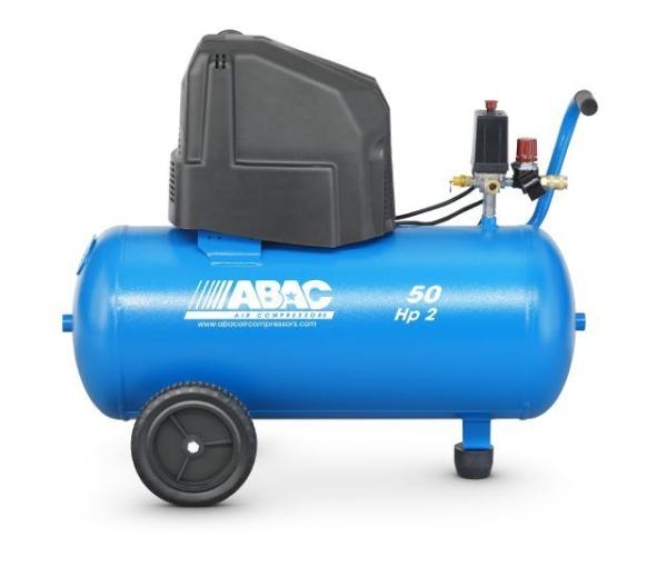 ABAC O20P Monte Carlo (OM231) Direct Drive Oil-Less 2HP 50 Litre Air Compressor