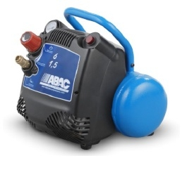 ABAC START 015 Direct Drive Oil-Less 1.5 HP 6 Litre Air Compressor